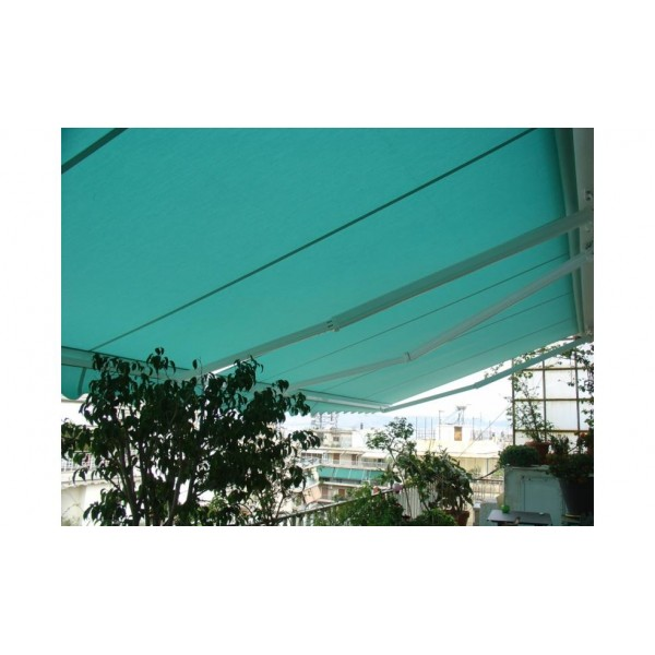 Τέντες - Πέργκολες - Κασετίνες - iliokalipsi.gr - Τέντα με ύφασμα βαρέως τύπου ακρυλικό - Τέντες με βραχίονες Ελληνικής κατασκευής