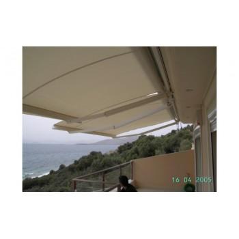 Τέντες - Πέργκολες - Κασετίνες - iliokalipsi.gr - Τέντες με βραχίονες - Τέντες με βραχίονες Ελληνικής κατασκευής